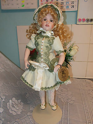 Hillview Lane 16 Inch Limited Edition Porcelain Doll Sue-Ann.