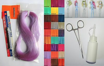 Complete Rerooting Tool Kit - Includes Everything You Need - inc a MH Doll!