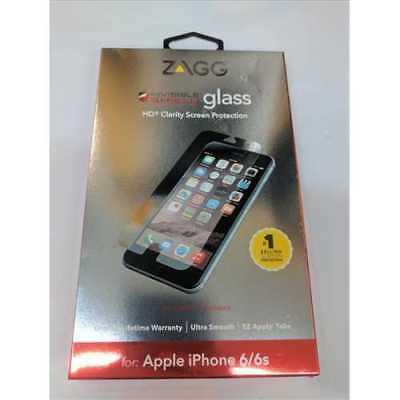 ZAGG InvisibleShield Glass for Apple iPhone 6 / iPhone 6S - Screen, Case Friendl