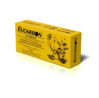 EUCARBON 30 x anti-gas tablets - Best price & Tracking info