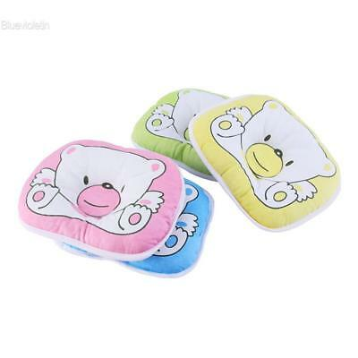 Bear Pattern Pillow Infant Baby Support Cushion Pad Prevent Flat Head BLLT