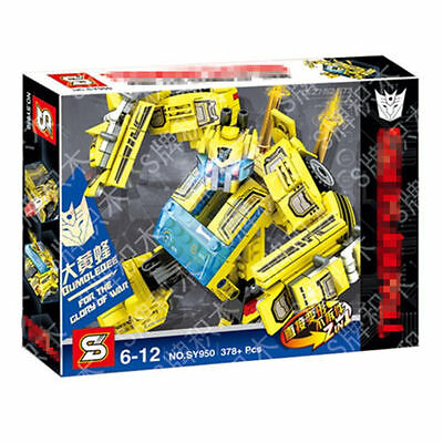 Transformer Bumblebee Mini Action Figures Doll Building Block Board Game Kid Toy
