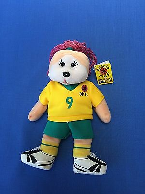 "Skansen Beanie Kids "" TRACY the SOCCER GIRL Bear  """