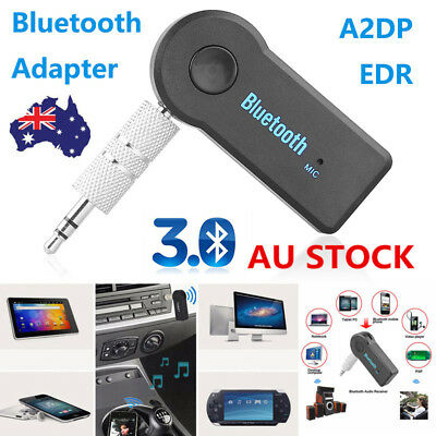 3.5mm Car Bluetooth Adapter Auto AUX Streaming A2DP Kit For Speaker Headphone