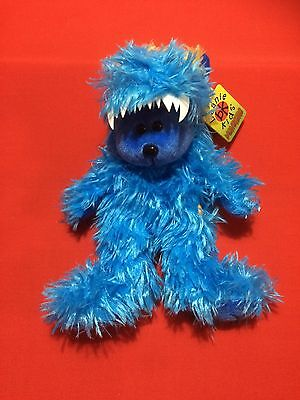 "Skansen Beanie Kids  "" GOBBLE the MONSTER Bear  """