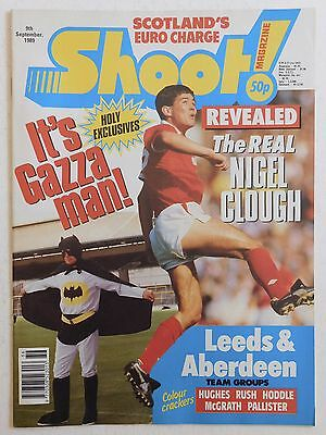 SHOOT Football Magazine - 9 September 1989 - Leeds United, Aberdeen