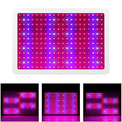 2400W LED Grow Light Panel Lamp for Hydroponic Plant Growing Full Spectrum Bloom