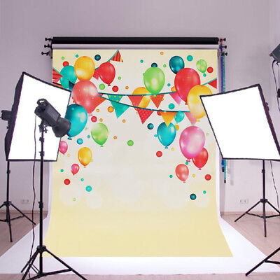 60x90cm Kid Party Celebration Balloon Photography Backdrop Wall Photo Background
