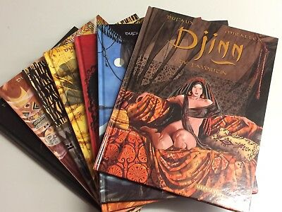 COMIC Comics - ALLES GUTE! DJINN Band 1-7 HARDCOVER TOP Dufaux Miralles