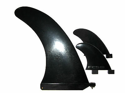 Stand Up Paddle Board Sup Longboard Fcs Surfboard Fins!!