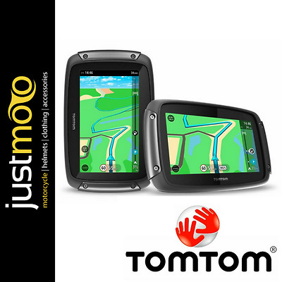 TomTom Rider 450 Premium Pack GPS Satellite Navigation System for Motorcycle NEW