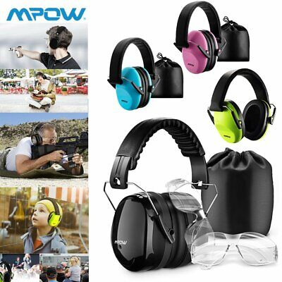 MPOW Adult Kids Children Ear Muffs Shooting Defenders Noise Festival Music Shows