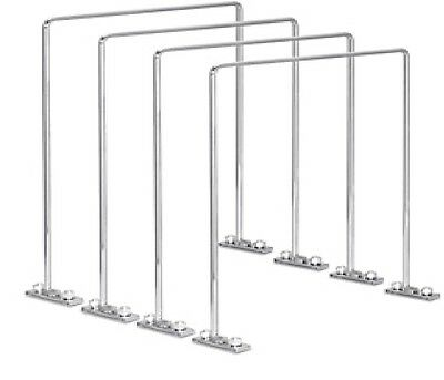 "Wire Shelving Dividers - 16 x 20"", Tall Set of 4"