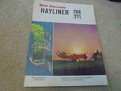 Vintage 1963 New Holland Hayliner 268 and 271