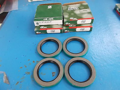 Chicago Rawhide Oil Seal 17387, LOT OF 4