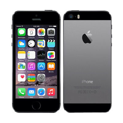 iPhone 5S A1533 4G LTE Smartphone 16GB Apple iOS téléphone No Finger Sensor FR