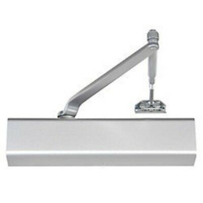 Yale 2701 Commercial Grade 1 Adjustable Size Door Closer  UL Aluminum / 689