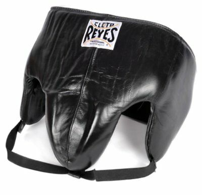 New Cleto Reyes Leather Kidney Protection Boxing Cup - Black