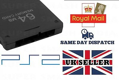 64Mb Ps2 Memory Card For Playstation 2 64 Mb - New