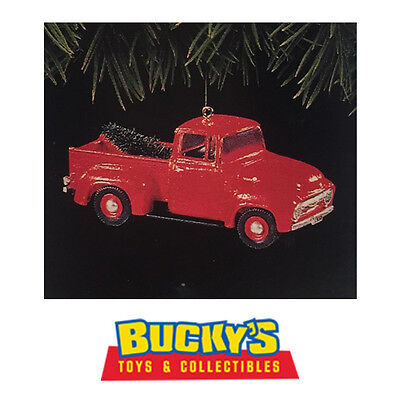 1956 Ford Truck 1995 Hallmark Keepsake Ornament All American Trucks 1 Red Pickup