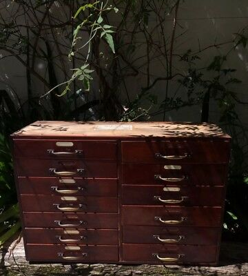 Antique Tobacconist Apothecary Drawers, vintage shop fitting