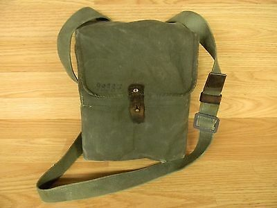 Yugo Military 4 Cell 30 Rd Magazine  Pouch Canvas With Strap Used 7.62 X 39 M-70