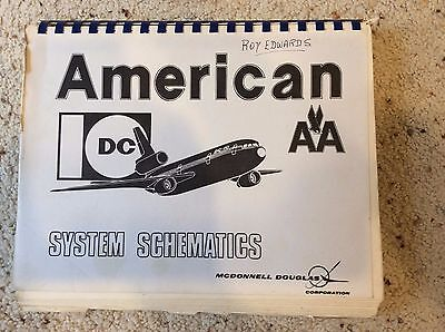 McDonnell Douglas DC-10 System Schematics American Airlines Training Reference