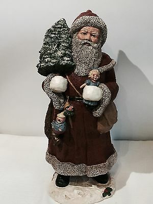 Miss Martha Holcombe All God's Children 12' Father Christmas 1987 #2462 of 2500