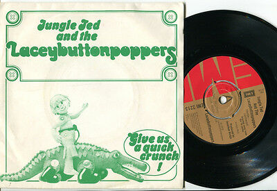 LACEYBUTTONPOPPERS - Jungle Ted and The Laceybuttonpoppers 1974 GLAM BUBBLEGUM