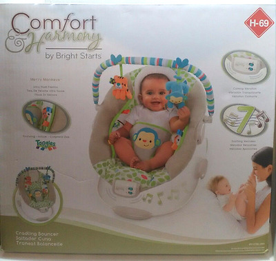 Comfort Harmony Cradling Baby Bouncer by Bright Stars