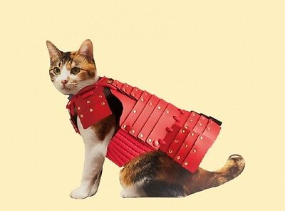 NEW SAMURAI AGE Japanese YOROI Armor for Pet Cat Dog Cosplay F/S Free Shipping