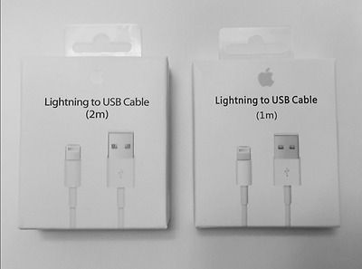 New Apple Lightning Cable USB Cable Charger iPhone 7 6S Plus 5 C SE 1/2M 3/6FT