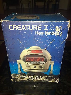 Ultra Rare Radio Am Robot Space Age Brand New Timco Ex-21 Creature I Nuova Neu