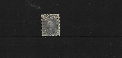USA 1861 SG74B, 24c GREY, USED WITH FAULTS, CAT £275