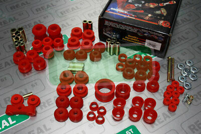 Energy Suspension Master Bushing Set Red Civic 92-95 Del Sol 93-97 16.18103R