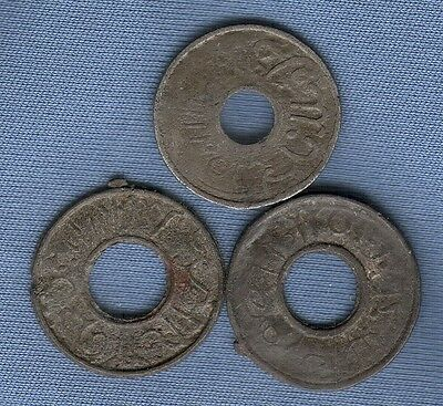 Rare Palembang Indonesia Coins 1400's to 1821