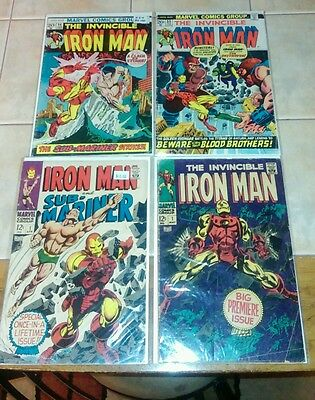 Marvel Iron Man 1968 1-300 lot run includes 55 1st Thanos  NO RELIST