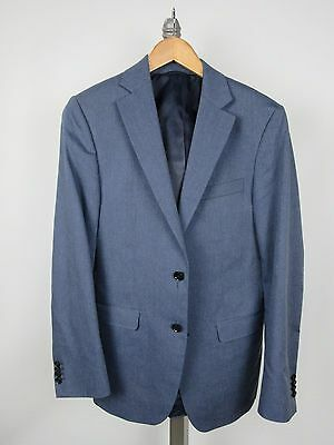SPURR Simon 2 Btn Jacket Sport Coat 38R 36 Steel Blue Canada Valdez Model Slim