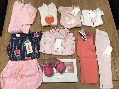 Mixed Lot Baby Girl Clothes Seed Country Road Bonds Pumpkin Patch BNWT