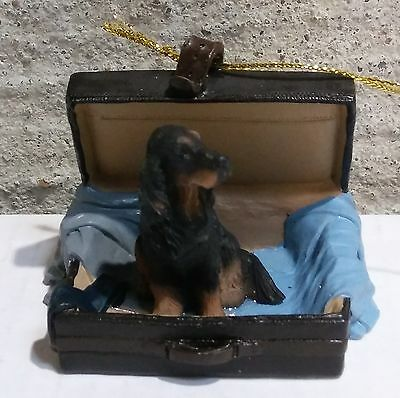 Victorian Trading Co Travel Companion Gordon Setter Ornament Free Ship
