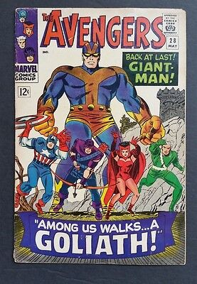 Avengers #28 • 1St Collector • Vg+ (4.5) Or Better • Guardians • Infinity War