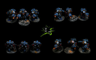 Primaris Aggressors Space Marines *Commission Superbly Painted Warhammer 40K