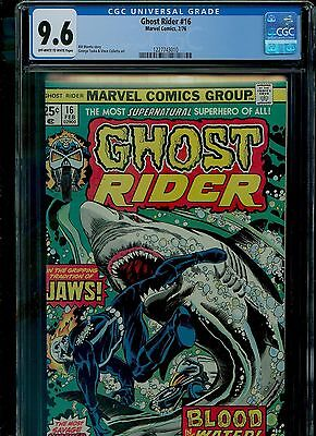 Ghost Rider 16 CGC 9.6 NM+ George Tuska art Dave Cockrum cover Marvel 1976