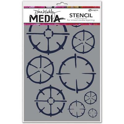 NEW Ranger - Dina Wakley Media - Stencils  - Wheels
