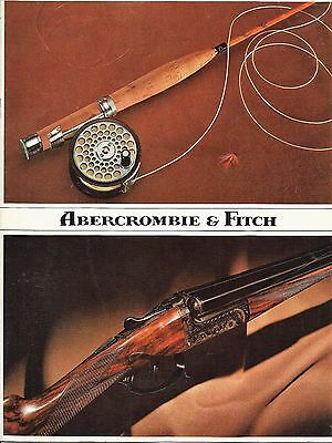 1970's Abercrombie & Fitch Fly Fishing & Hunting Catalog
