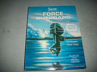 Seloc Service Manual All Force Outboards 1984-1988 Tune-Up & Repair Manual