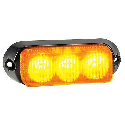 Narva 85210 12/24V 100mm LED Warning Light w/ Multiple Flash Patterns & Colours