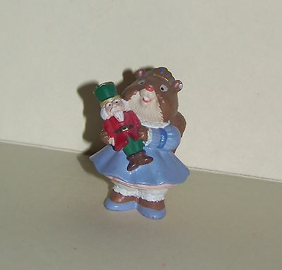 HALLMARK Christmas Merry Minature 1995 Squirrel Nutcracker