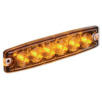 Narva 85214 12/24V 131mm LED Warning Light w/ 23 Flash Patterns & 5 Colours