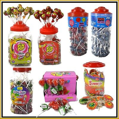 Kids Lollipop Tongue Painter Rainbow Rose Lolly Bubblegum Candy Lollies Sweet UK